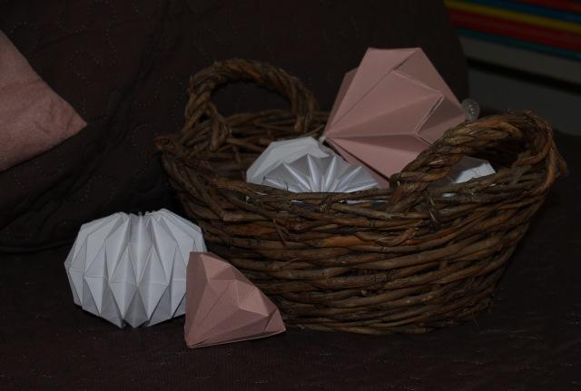 origami diamant